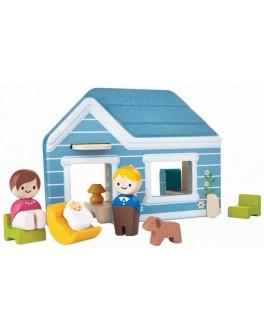 Деревянная игрушка Plan Toys Дом (6617) - plant 6617