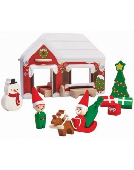 Деревянная игрушка Plan Toys Домик деда мороза (6622) - plant 6622