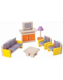 Деревянная игрушка Plan Toys Гостиная - нео (7307) - plant 7307
