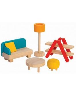 Деревянная игрушка Plan Toys Гостиная (7347) - plant 7347