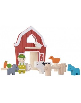 Дерев'яна іграшка Plan Toys Ферма (6618) - plant 6618