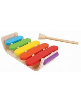 Деревянная игрушка Plan Toys Овальный ксилофон (6405)