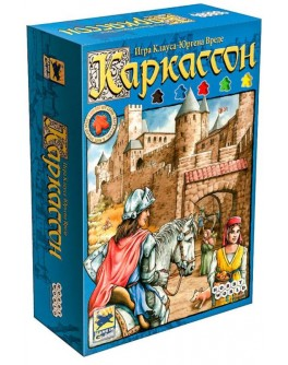 Настільна гра Carcassonne (Каркассон) база - dtg 00378