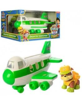 Игровой набор Самолет Щенячий патруль Джунгли с щенком-спасателем