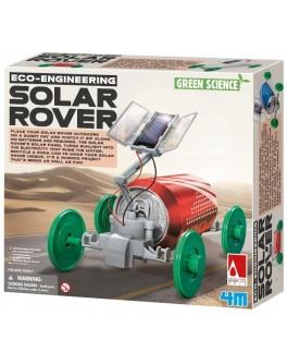 Обучающие игрушки STEM Конструктор 4M Машина на солнечной батарее - afk 00-03286