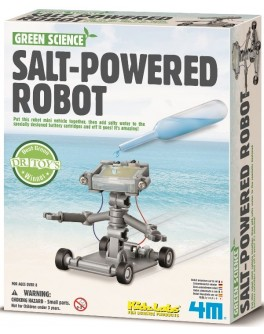 Обучающие игрушки STEM Конструктор 4M Робот на энергии соли - afk 00-03353