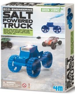 Обучающие игрушки STEM Конструктор 4M Грузовик на энергии соли