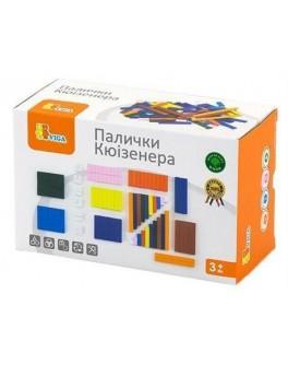 Счетные палочки Кюизенера. Обучающий набор Viga Toys (51765) - afk 51765
