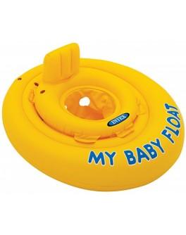 Надувной плотик Intex 56585 Мой Детский поплавок 70 см