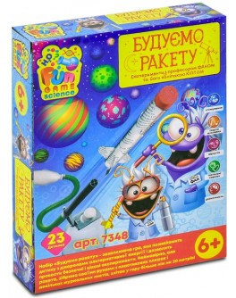 Научный набор Fun Game Будуємо ракету (7348)