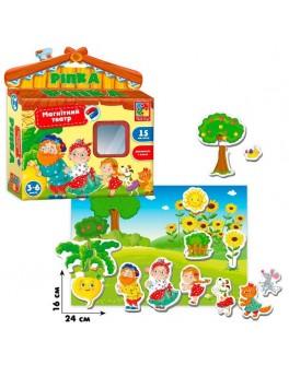 Магнитный театр Vladi Toys Ріпка (VT3206-24) - igs 3206-24