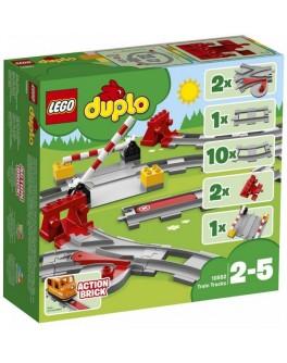 Конструктор LEGO DUPLO Железнодорожные пути (10882) - bvl 10882