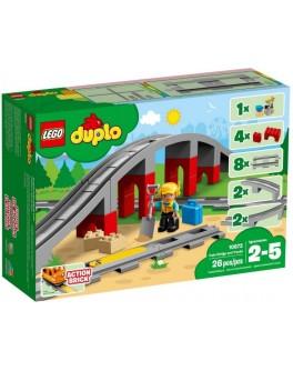 Конструктор LEGO DUPLO Железнодорожный мост и рельсы (10872) - bvl 10872