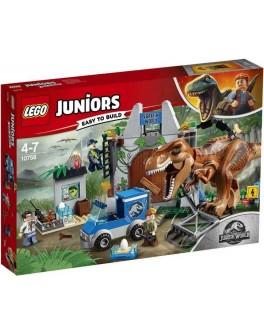Конструктор LEGO Juniors Побег тираннозавра (10758) - bvl 10758