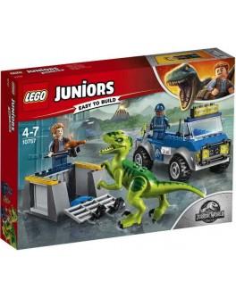 Конструктор LEGO Juniors Спасательный грузовик раптора (10757) - bvl 10757