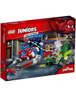 Конструктор LEGO Juniors Уличный бой Человека-Паука против Скорпиона (10754) - bvl 10754
