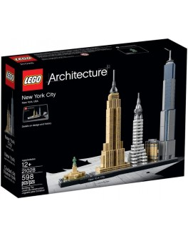 Конструктор LEGO Architecture Нью - Йорк (21028) - bvl 21028