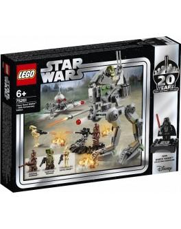 Конструктор LEGO Star Wars Шагоход-разведчик клонов: выпуск к 20-летнему юбилею (75261) - bvl 75261