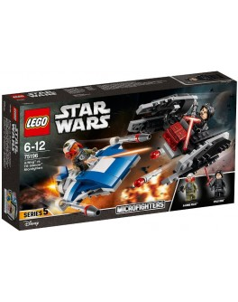 Конструктор LEGO Star Wars Микроистребители A-Винг против тихоход TиАйИ (75196) - bvl 75196