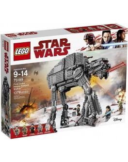 Конструктор LEGO Star Wars Тяжелый шагоход Первого ордена (75189) - bvl 75189
