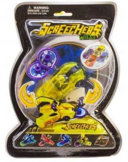 Машинка-трансформер Скричер Screechers, 4 вида