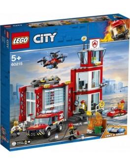 Конструктор LEGO City Пожарное депо (60215) - bvl 60215