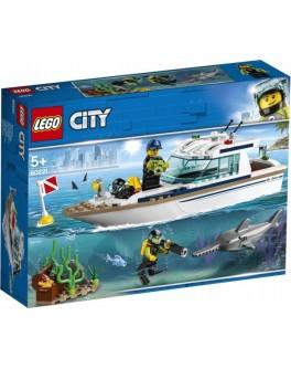 Конструктор LEGO City Яхта для дайвинга (60221) - bvl 60221