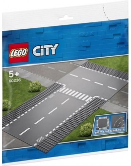 Конструктор LEGO City Боковая и прямая дорога (60236) - bvl 60236
