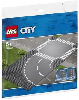 Конструктор LEGO City Поворот и перекресток (60237) - bvl 60237