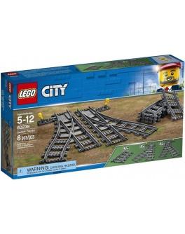 Конструктор LEGO City Рельсы и стрелки (60238) - bvl 60238
