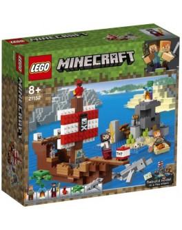 Конструктор LEGO Minecraft Приключения на пиратском корабле (21152) - bvl 21152
