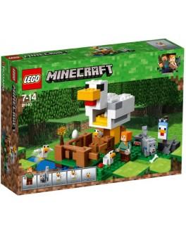 Конструктор LEGO Minecraft Курятник (21140) - bvl 21140