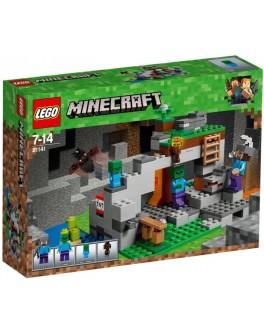 Конструктор LEGO Minecraft Пещера зомби (21141) - bvl 21141