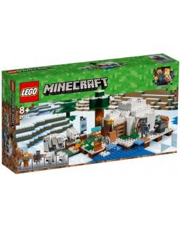 Конструктор LEGO Minecraft Полярное иглу (21142) - bvl 21142