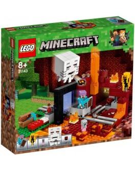 Конструктор LEGO Minecraft Портал в Нижний мир (21143) - bvl 21143