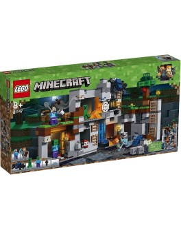 Конструктор LEGO Minecraft Приключения в шахтах (21147) - bvl 21147