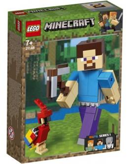 Конструктор LEGO Minecraft Стив с попугаем (21148) - bvl 21148