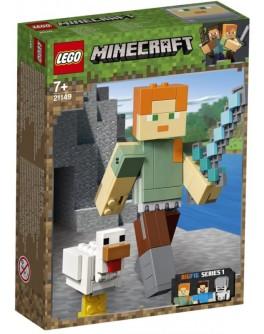 Конструктор LEGO Minecraft Алекс с цыпленком (21149) - bvl 21149