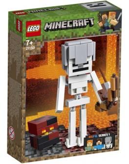 Конструктор LEGO Minecraft Скелет и лавовый куб (21150) - bvl 21150