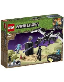 Конструктор LEGO Minecraft Битва с драконом Края (21151) - bvl 21151