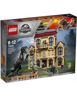 Конструктор LEGO Jurassic World Нападение индораптора в поместье Локвуд (75930) - bvl 75930