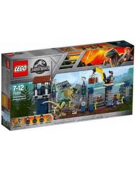 Конструктор LEGO Jurassic World Нападение Дилофозавра на сторожевой пост (75931) - bvl 75931