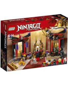 Конструктор LEGO NINJAGO Решающий бой в тронном зале (70651) - bvl 70651