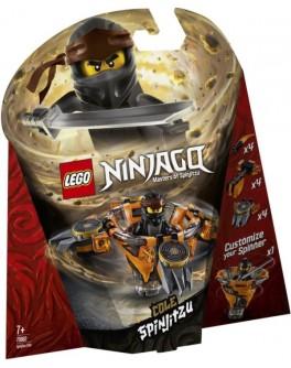 Конструктор LEGO NINJAGO Спин-джитсу Коул (70662) - bvl 70662