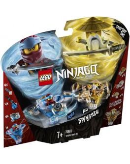 Конструктор LEGO NINJAGO Спин-джитсу Ния и Ву (70663) - bvl 70663
