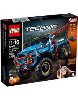 Конструктор LEGO Technic Аварийный внедорожник 6х6 (42070) - bvl 42070