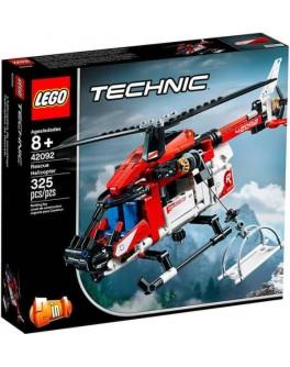 Конструктор LEGO Technic Спасательный вертолёт (42092) - bvl 42092