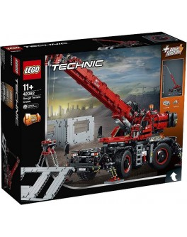 Конструктор LEGO Technic Подъёмный кран для пересечённой местности (42082) - bvl 42082