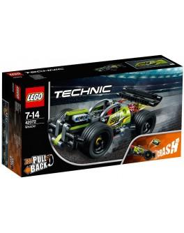 Конструктор LEGO Technic БУМ! Зеленый гоночный автомобиль (42072) - bvl 42072
