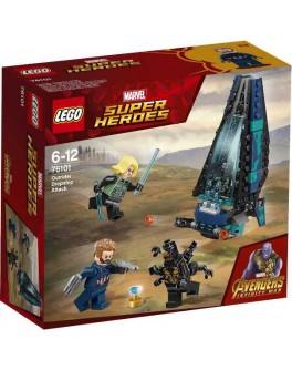 Конструктор LEGO Super Heroes Атака Всадников на корабле (76101) - bvl 76101